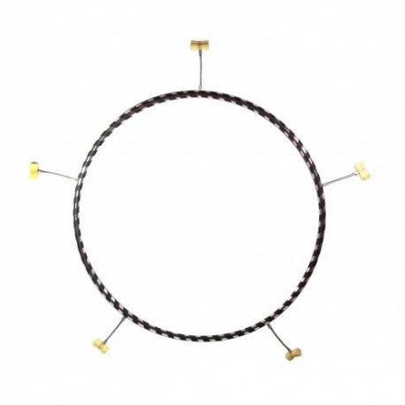 85cm ohnivý Hula Hoop