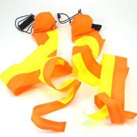 Cobra Poi - Yellow - Orange