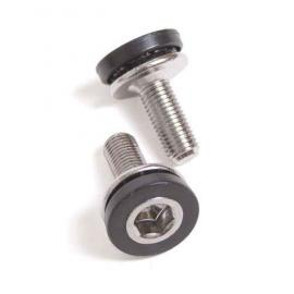 Crank screw for unicycle