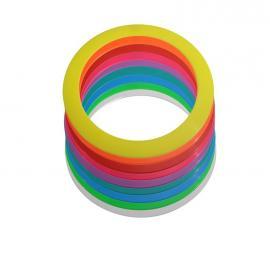 Standardní žonglovací kruhy...