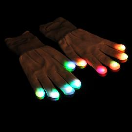 Illuminating glove - 7 modes