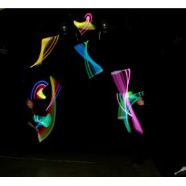 Supernova JS2 LED Juggling Club Kosmos