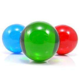 Coloured acrylic ball 75 mm
