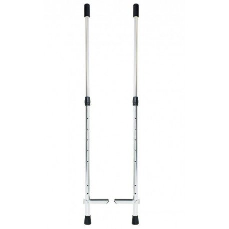 Adjustable Wooden Hold On Stilts - Long  - Firetoys