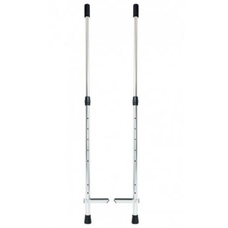 Adjustable Wooden Hold On Stilts - Long  - Firetoys