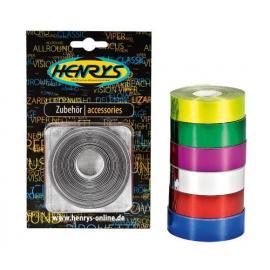 Henry metalická páska stříbrná