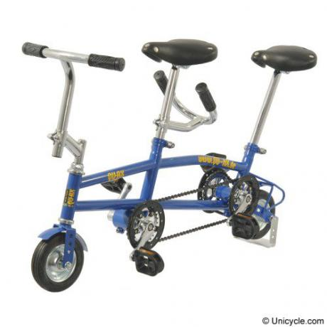 """Mini Tandem 6"""" Blue QU-AX"""