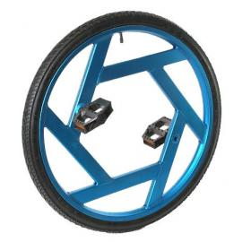 "Ultimate wheel 24"", blue"