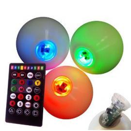 3x svítící míčky s dálkovým ovládáním