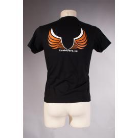 T-Shirt Firelovers.com - men - black