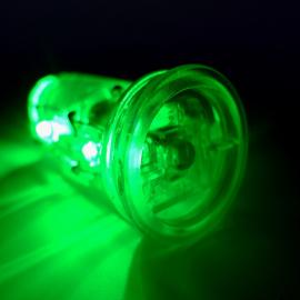 3x Glow balls with remote control