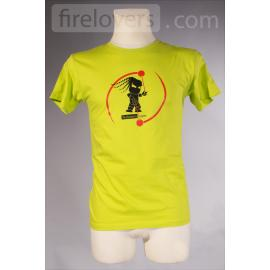 T-Shirt Firelovers.com - men - green
