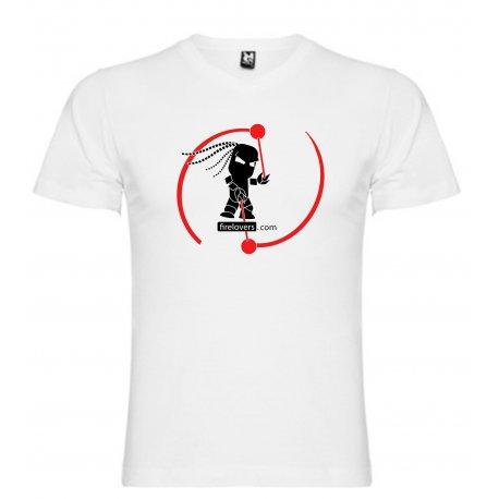 T-Shirt Firelovers.com - men - white