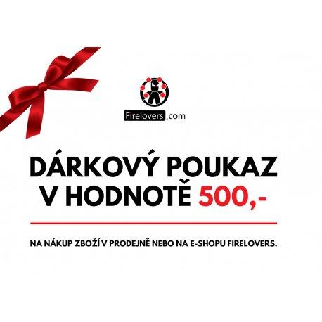 Gift Voucher Firelovers 500 - 2000,-