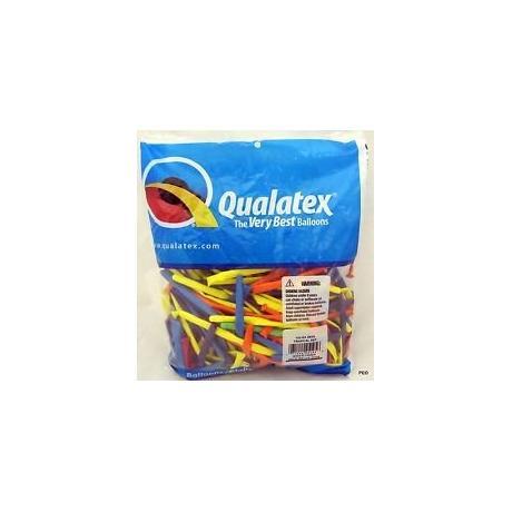 100 pcs Qualatex Balloons CARNIVAL