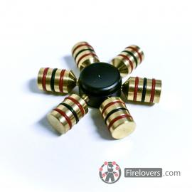 Fidget Spinner - kovový - kapky