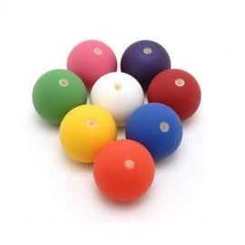 Bubble ball peach 63 mm