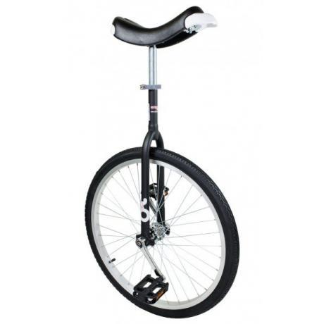 "Qu-Ax OnlyOne Unicycle 24"", black"