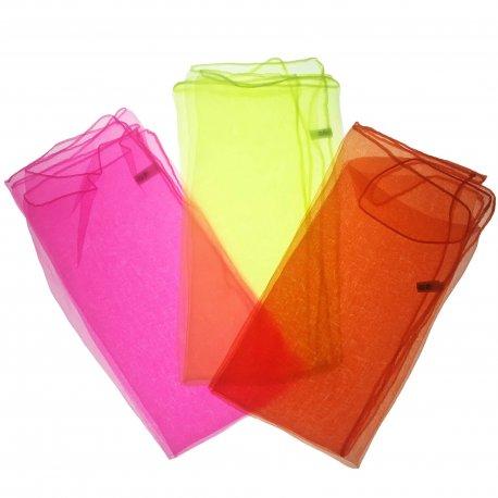 Coloured Juggling scarf 3 psc set Firetoys
