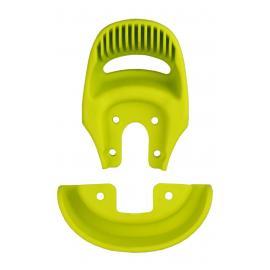 Držadlo a nárazník na sedlo jednokolky Qu-ax s dírou