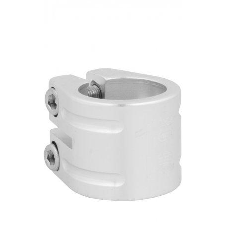 Seatclamp Qu-Ax, silver, 31,8 mm