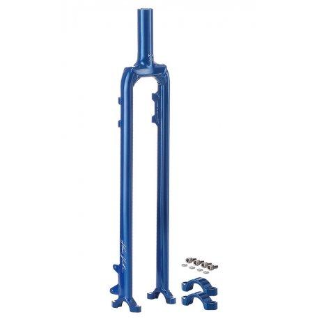 """Fork Kris Holm 36"""" 787 mm, alu, blue"""