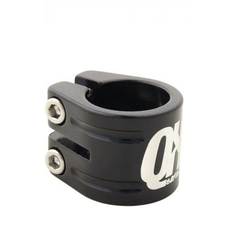 Seatclamp Qu-Ax QX triple, black, 31,8 mm