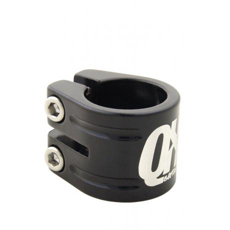 Seatclamp Qu-Ax QX triple, black, 31,8 mm