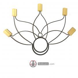 Fire fans Lotus - Light