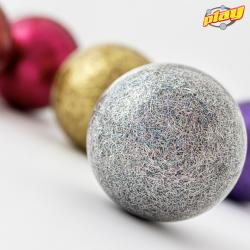 Glitter stageball 90 mm 150...