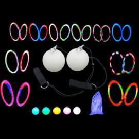 Multifunkční LED Glow Poi