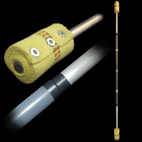 Firetoys Fibre III contact fire staff - 140 cm