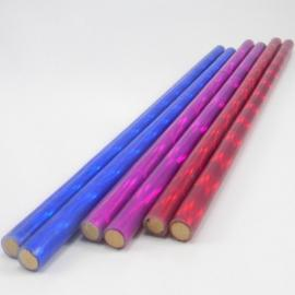 Holographic Hand Sticks - 12mm/ 2mm silicon