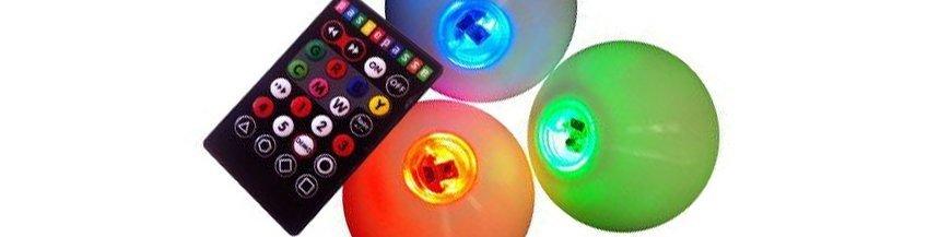 Svítící míčky