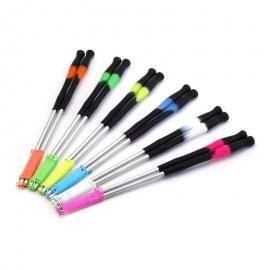 GEKO hůlky k diabolu - UV multicolour silicone Play grip