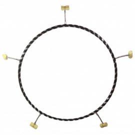 100cm ohnivý Hula Hoop