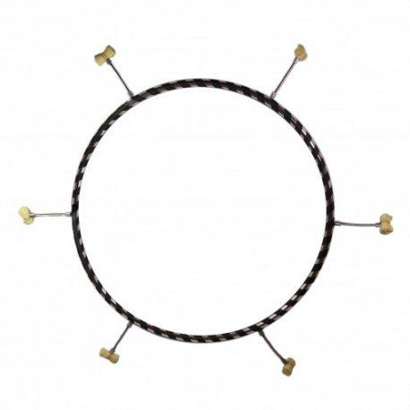 90 cm ohnivý Hula Hoop