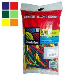 100 ks tvarovacích balonků Qualatex CLASSIC