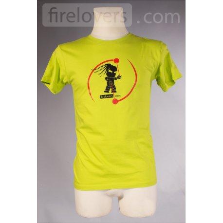 Triko Firelovers.com - pánské - zelená
