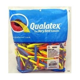 100 pcs Qualatex Balloons CARNIVAL