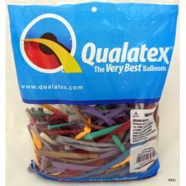 100 ks tvarovacích balonků Qualatex CARNIVAL