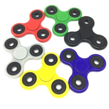 Fidget spinner plastic
