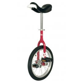 "Qu-Ax OnlyOne Unicycle 16"", red"